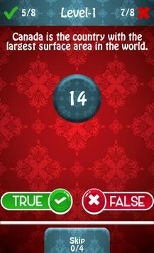True or False Wits Quiz apk screenshot