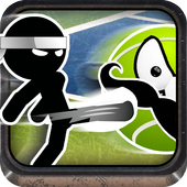 Stickman Run Tennis icon