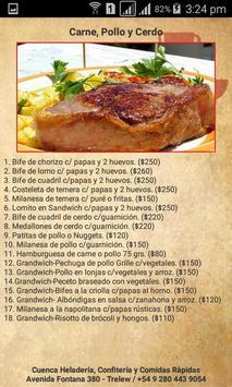 Menú Virtual Heladería y Confitería Cuenca screenshot 1