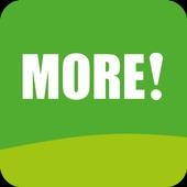 MORE! Media icon