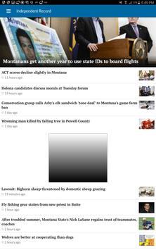 Helena Independent Record apk screenshot