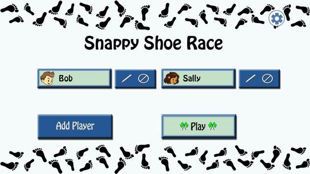 Snappy Shoe Race Lite screenshot 1