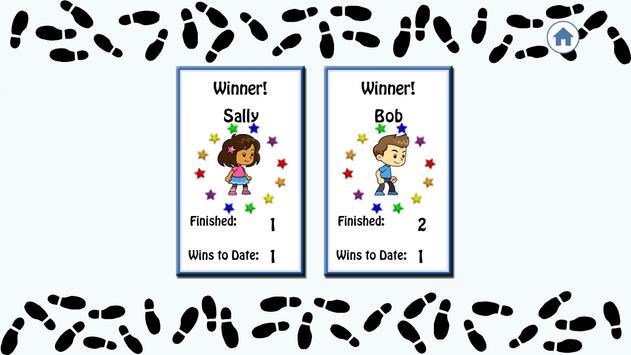Snappy Shoe Race Lite screenshot 4