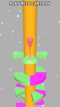 Helix Ball Jump poster