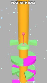 Helix Ball Jump screenshot 1