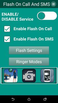 Flash on Call & SMS poster