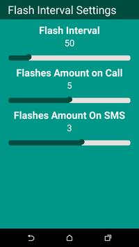 Flash on Call & SMS apk screenshot