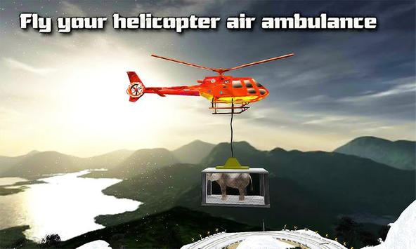 Helicopter Rescue Animals apk screenshot