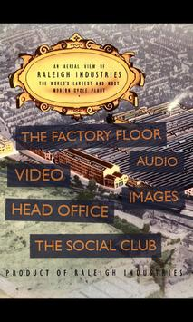 I Worked At Raleigh poster