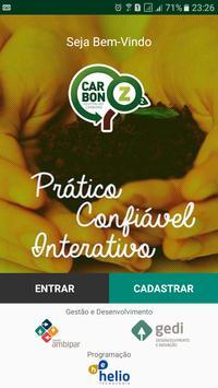 Carbon Z - Pegada de Carbono! poster