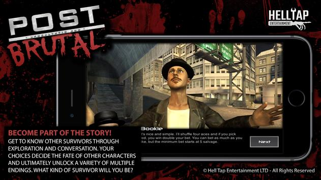 Post Brutal Zombie Action Rpg Apk Download Free Role Playing Game