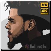 J. Cole Rapper Wallpaper HD icon
