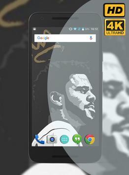 J. Cole Rapper Wallpaper HD poster