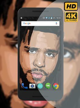J. Cole Rapper Wallpaper HD screenshot 3