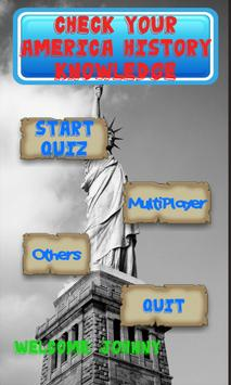 America History Knowledge test poster