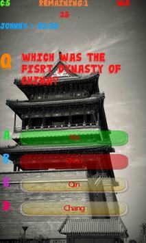 China History Knowledge test apk screenshot