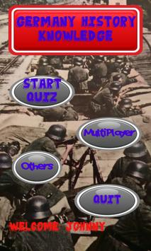 Germany History Knowledge test poster