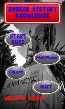 Greece History Knowledge test apk screenshot