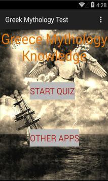 Greek Mythology Knowledge test apk screenshot