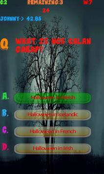 Halloween History test apk screenshot