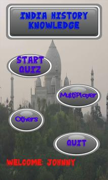 India History Knowledge test apk screenshot