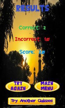 Islam Knowledge test apk screenshot