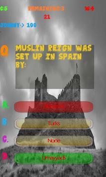 Spain History Knowledge test apk screenshot