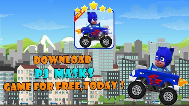 PJ Car Masks Game 2 poster