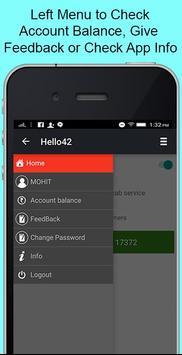 Hello42 Cab Driver apk screenshot