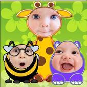 Baby Faces Photo Frames icon
