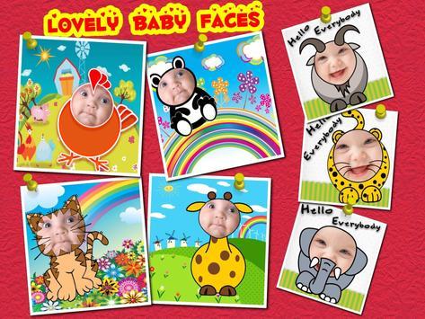 Baby Faces Photo Frames screenshot 11