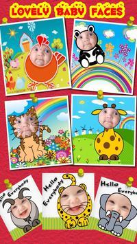 Baby Faces Photo Frames screenshot 2