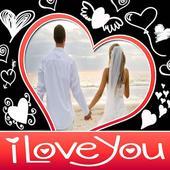I Love You Photo Frames icon