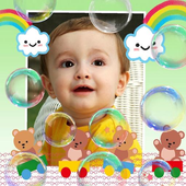 Lovely Baby Photo Frames icon