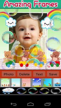 Lovely Baby Photo Frames poster