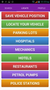 Vahan parking apk screenshot