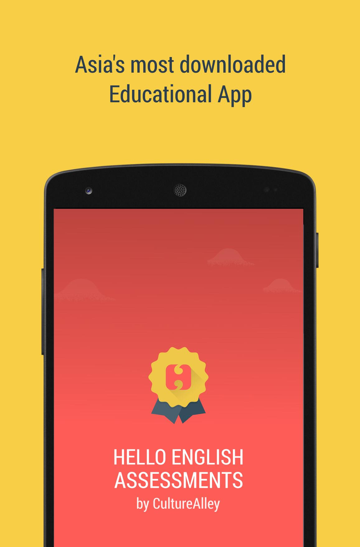Hello English Assessments for Android - APK Download