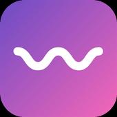 Wavy - Random video chat icon