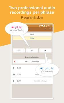 Spanish Phrasebook Learn Free apk screenshot