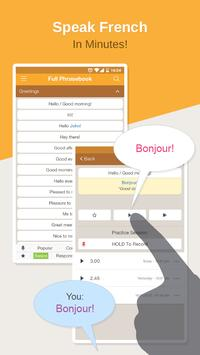 French Phrasebook – Learn Free poster