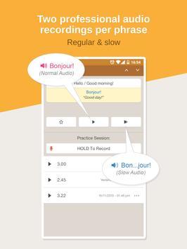 French Phrasebook – Learn Free apk screenshot