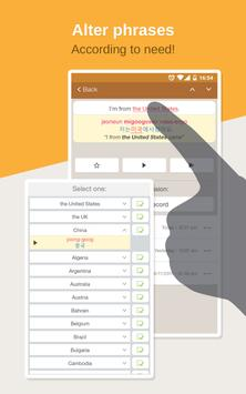Korean Phrasebook – Learn Free apk screenshot