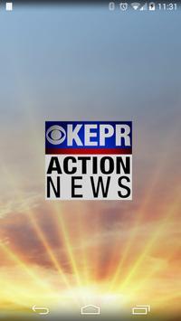 KEPR AM NEWS AND ALARM CLOCK poster