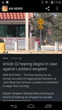 WEAR AM NEWS AND ALARM CLOCK apk screenshot