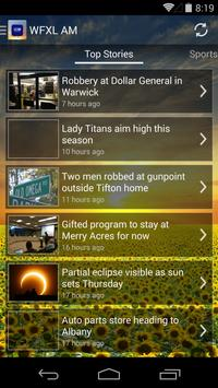 WFXL AM NEWS AND ALARM CLOCK apk screenshot