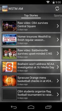 WSTM AM NEWS AND ALARM CLOCK apk screenshot