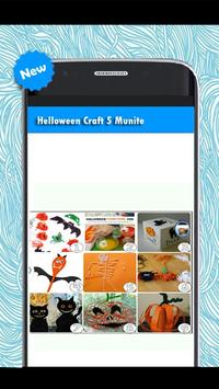 Helloween Craft Five Minute poster