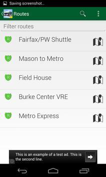 GMU Shuttle Live screenshot 1