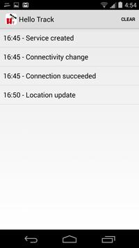 Hello Track apk screenshot