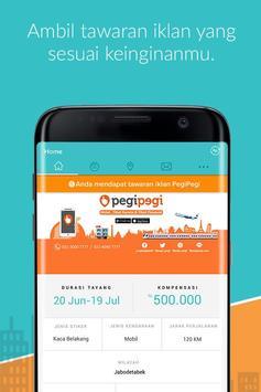 Ubiklan - Pasang Iklan Berjalan & Dapatkan Uangnya apk screenshot